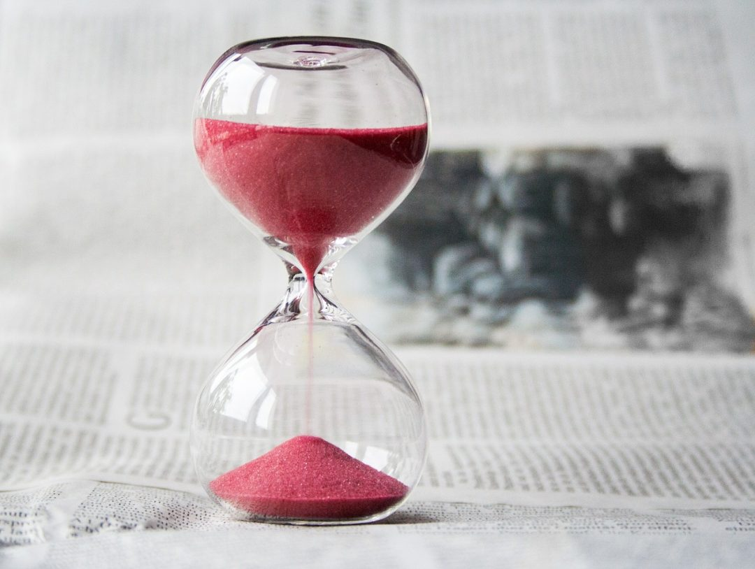Photo of Hourglass. Best length for focus groups?